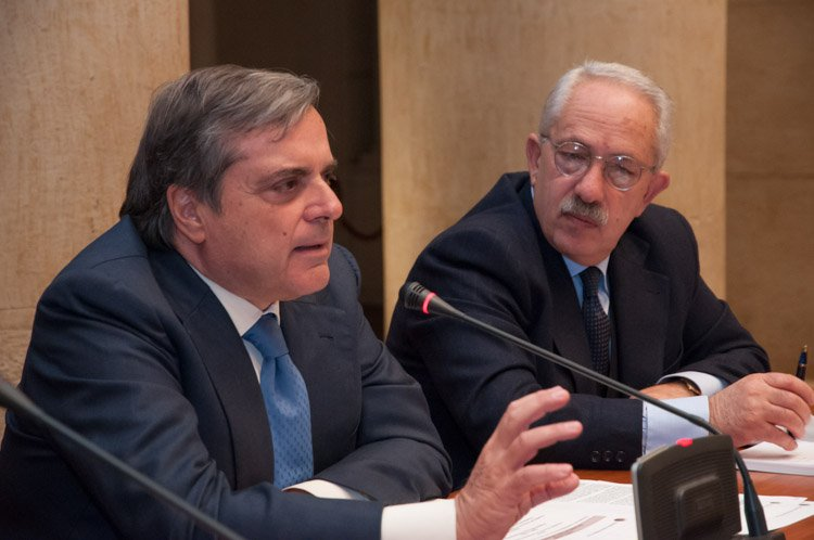 Giancarlo Cremonesi e Gian Maria Fara