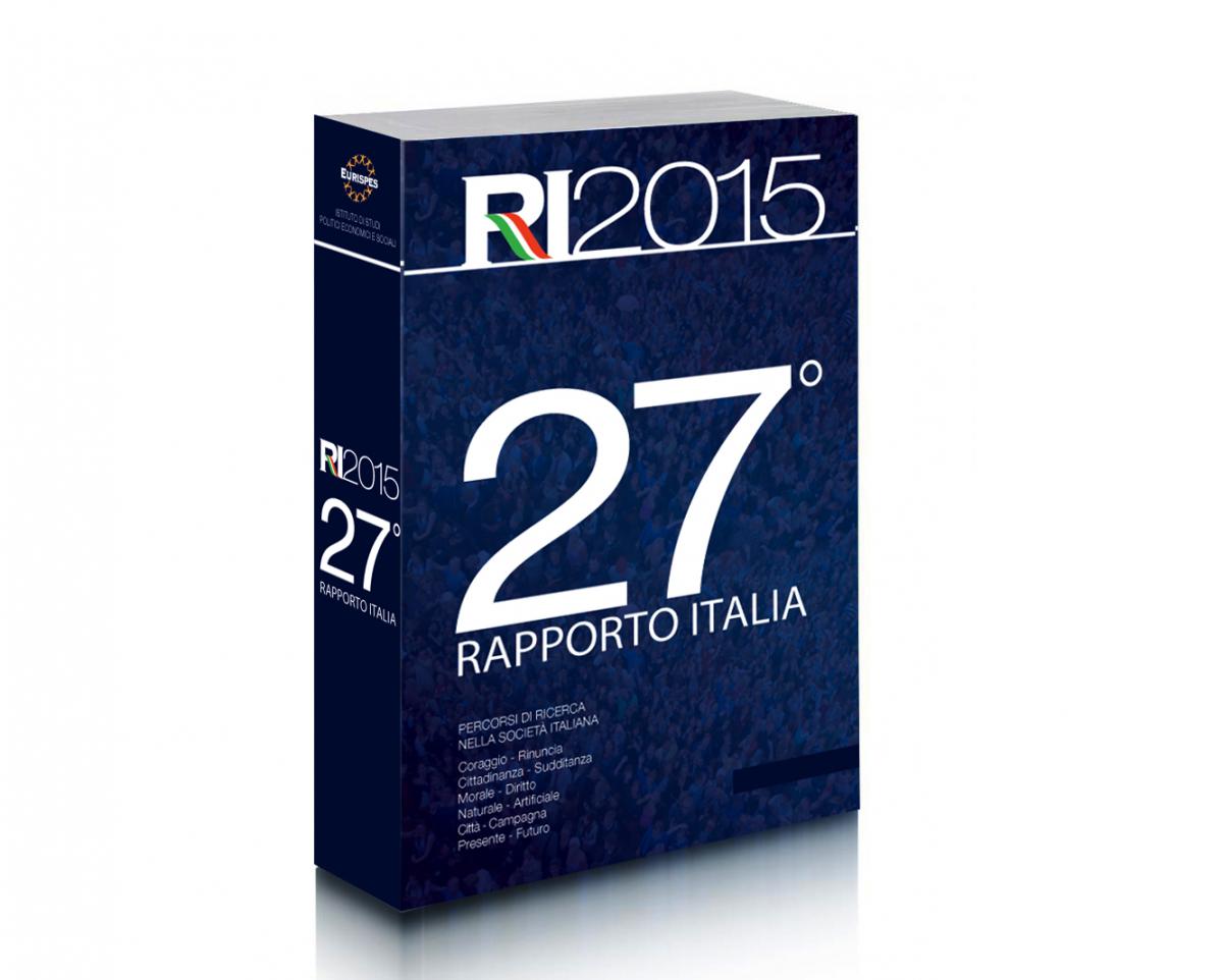 Eurispes Rapporto Italia 2015 copertina